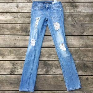 Guess medium rise skinny Sarah fit jeans